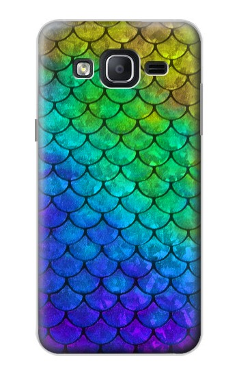 Printed Mermaid Fish Scale Samsung Galaxy On5 Case