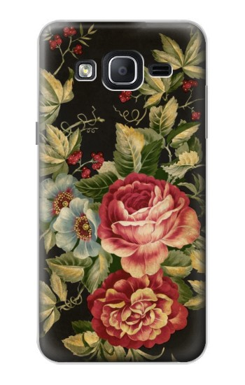 Printed Vintage Antique Roses Samsung Galaxy On5 Case