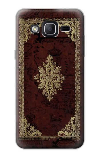 Printed Vintage Map Book Cover Samsung Galaxy On5 Case