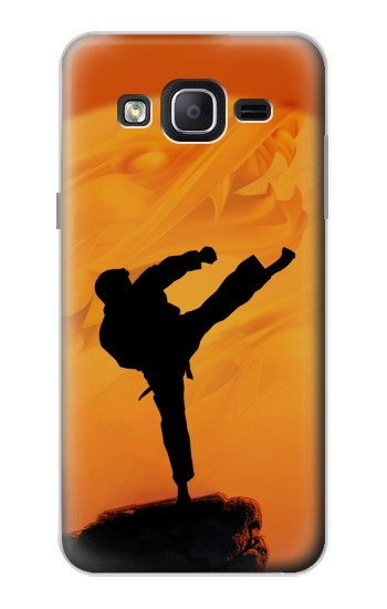 Printed Kung Fu Karate Fighter Samsung Galaxy On5 Case