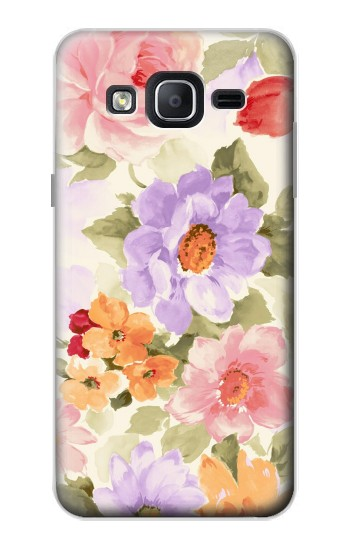 Printed Sweet Flower Painting Samsung Galaxy On5 Case