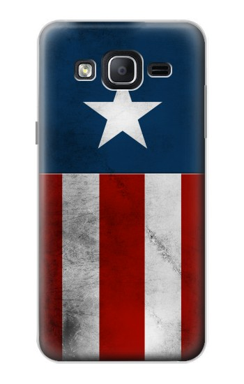 Printed Captain Star Flag of America Samsung Galaxy On5 Case