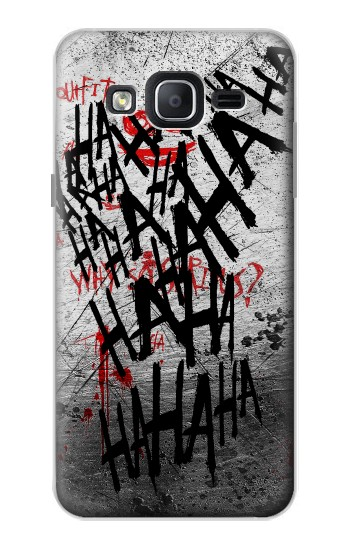 Printed Joker Hahaha Blood Splash Samsung Galaxy On5 Case
