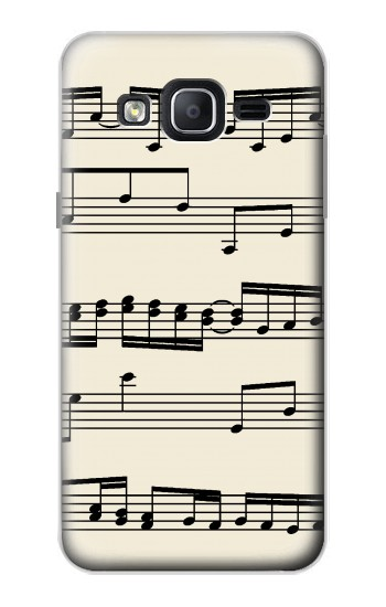Printed Music Sheet Samsung Galaxy On5 Case