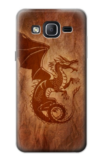 Printed Red Dragon Tattoo Samsung Galaxy On5 Case