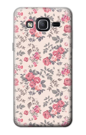 Printed Vintage Rose Pattern Samsung Galaxy On5 Case