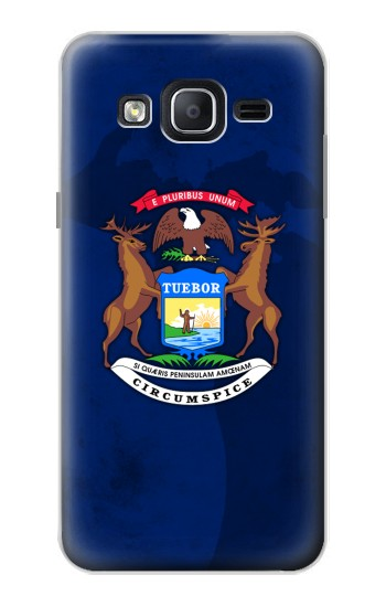 Printed State of Michigan Flag Samsung Galaxy On5 Case