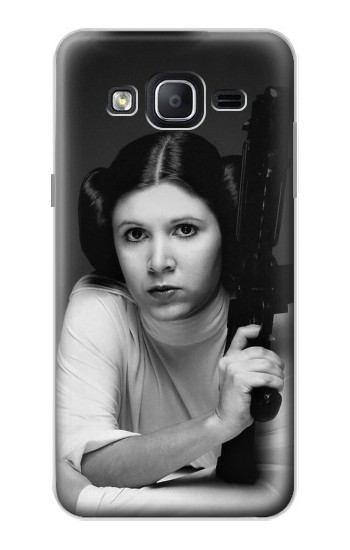 Printed Princess Leia Carrie Fisher Samsung Galaxy On5 Case
