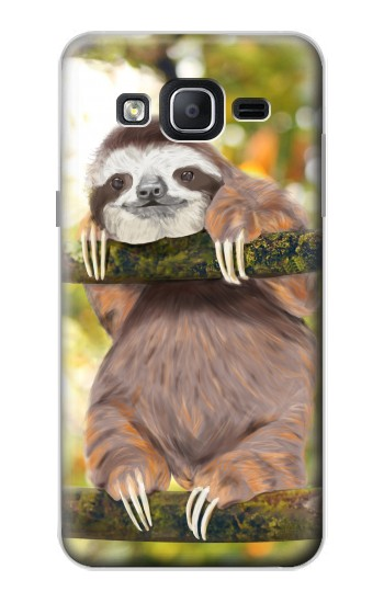 Printed Cute Baby Sloth Paint Samsung Galaxy On5 Case