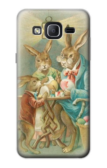 Printed Easter Rabbit Family Samsung Galaxy On5 Case