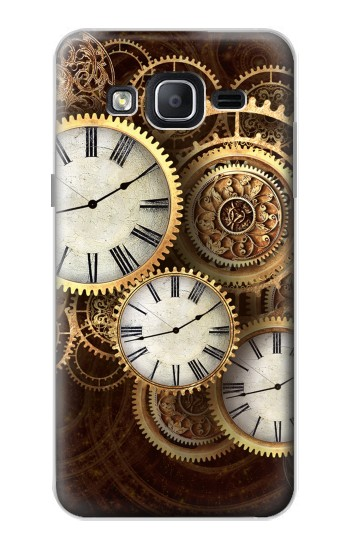 Printed Gold Clock Live Samsung Galaxy On5 Case