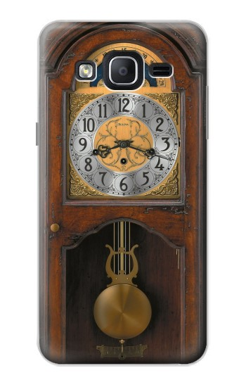 Printed Grandfather Clock Antique Wall Clock Samsung Galaxy On5 Case