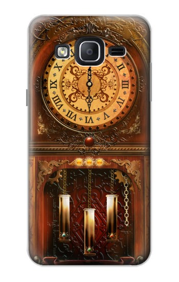 Printed Grandfather Clock Samsung Galaxy On5 Case