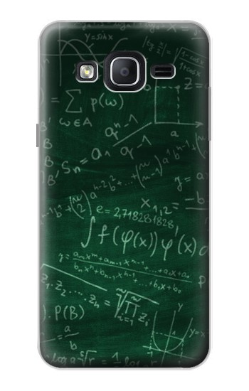Printed Math Formula Greenboard Samsung Galaxy On5 Case