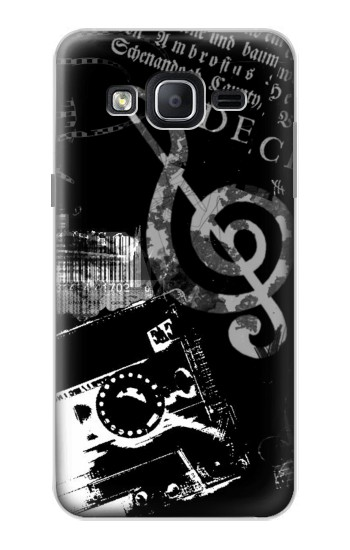 Printed Music Cassette Note Samsung Galaxy On5 Case