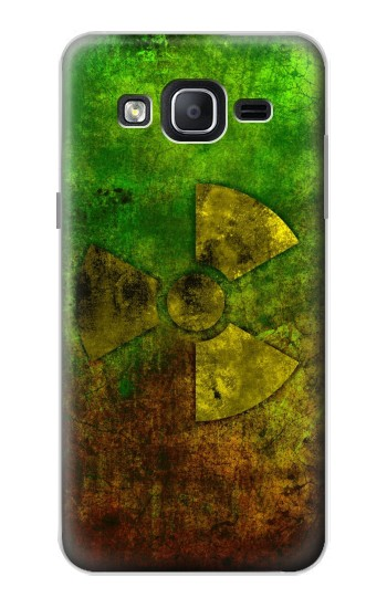 Printed Radioactive Symbol Samsung Galaxy On5 Case