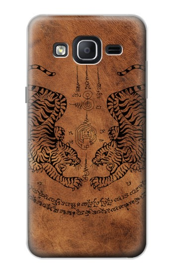 Printed Sak Yant Twin Tiger Samsung Galaxy On5 Case