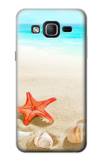 Printed Sea Shells Starfish Beach Samsung Galaxy On5 Case