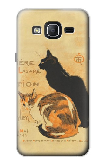 Printed Vintage Cat Poster Samsung Galaxy On5 Case