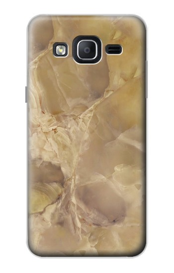 Printed Yellow Marble Stone Samsung Galaxy On5 Case