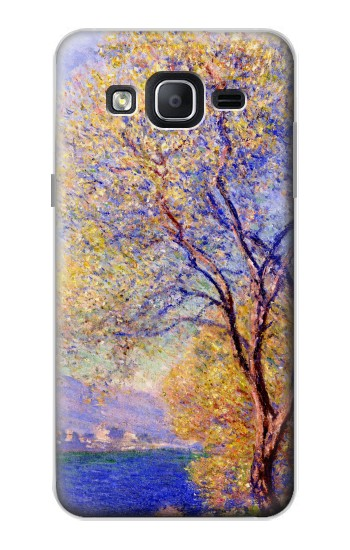 Printed Claude Monet Antibes Seen from the Salis Gardens Samsung Galaxy On5 Case