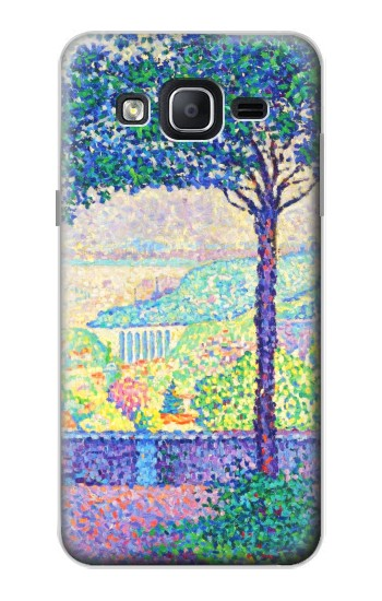 Printed Paul Signac Terrace of Meudon Samsung Galaxy On5 Case