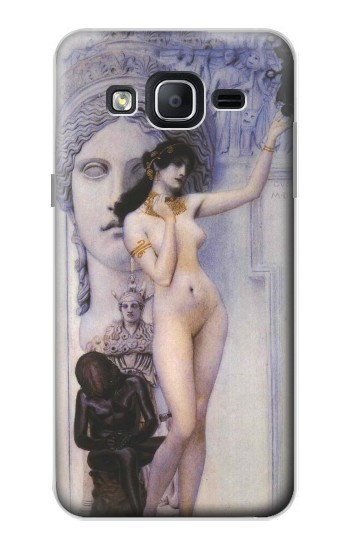 Printed Gustav Klimt Allegory of Sculpture Samsung Galaxy On5 Case
