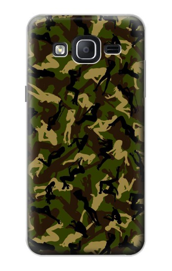 Printed Sexy Girls Camo Samsung Galaxy On5 Case
