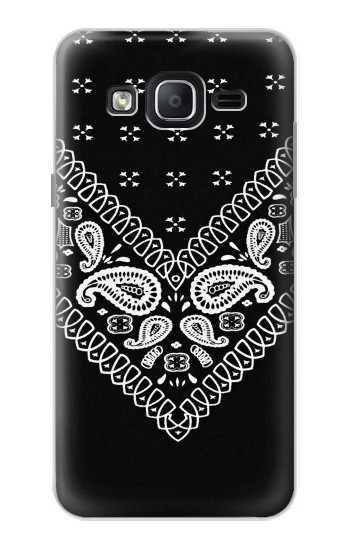 Printed Bandana Black Pattern Samsung Galaxy On5 Case