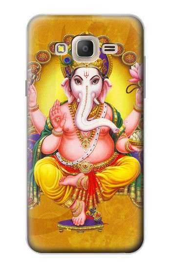 Printed Lord Ganesh Hindu God Samsung Galaxy On7 Case