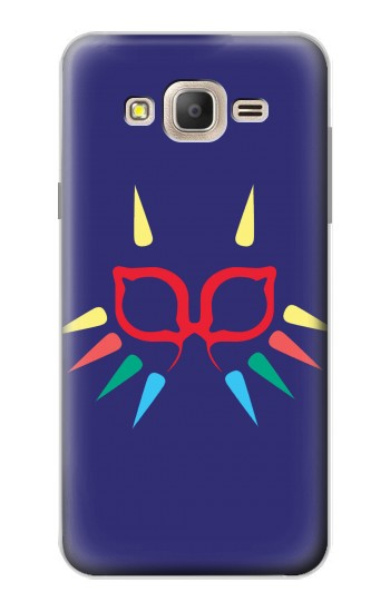 Printed Majora Mask Minimalist Zelda Samsung Galaxy On7 Case