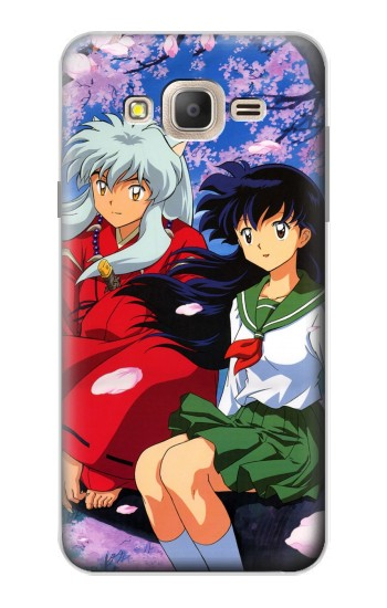 Printed Inuyasha Kagome Samsung Galaxy On7 Case