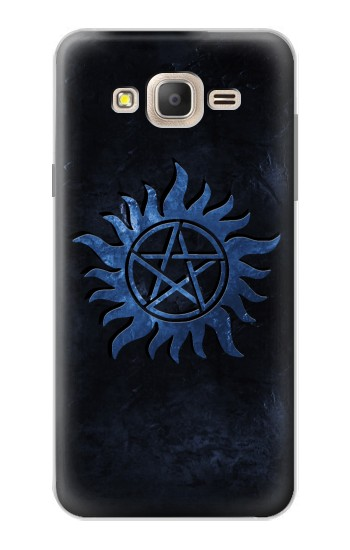 Printed Supernatural Anti Possession Symbol Samsung Galaxy On7 Case