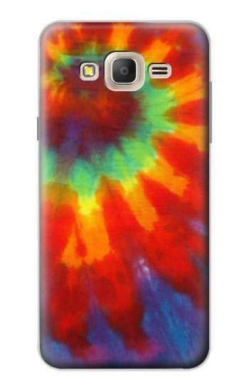Printed Colorful Tie Dye Fabric Texture Samsung Galaxy On7 Case