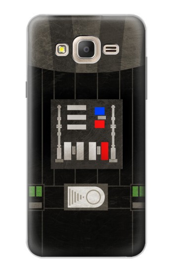 Printed Darth Vader Chest Plate Samsung Galaxy On7 Case