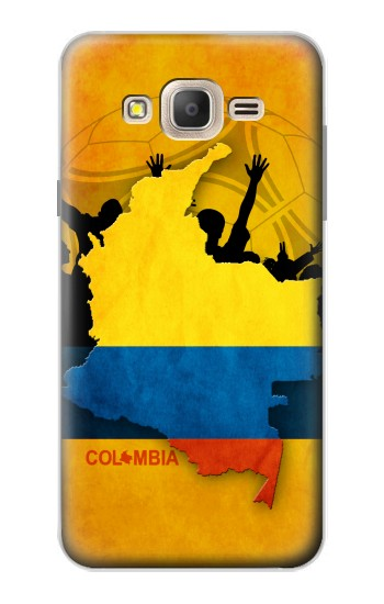 Printed Colombia Football Flag Samsung Galaxy On7 Case