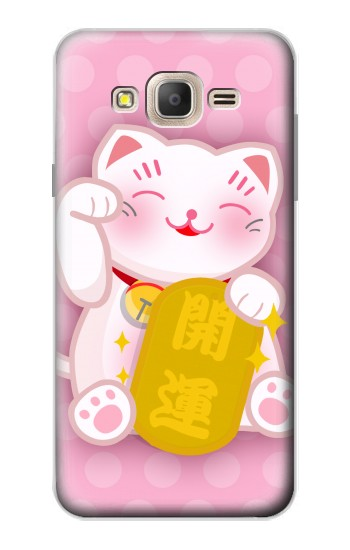 Printed Neko Lucky Cat Samsung Galaxy On7 Case