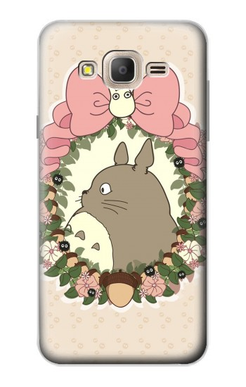 Printed My Neighbor Totoro Wreath Samsung Galaxy On7 Case