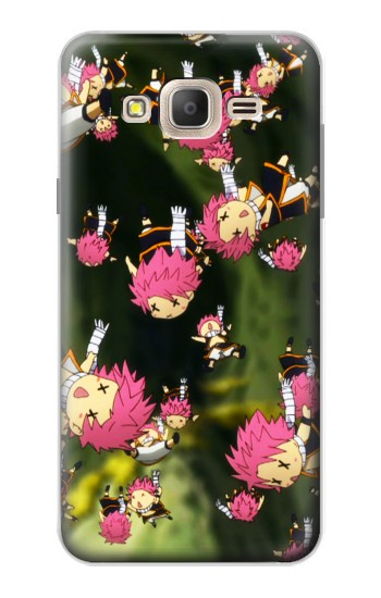 Printed Fairy Tail Little Natsu Fall Samsung Galaxy On7 Case