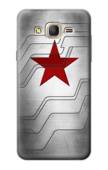 Printed Winter Soldier Bucky Arm Texture Samsung Galaxy On7 Case