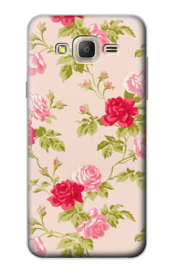 Printed Pretty Rose Cottage Flora Samsung Galaxy On7 Case