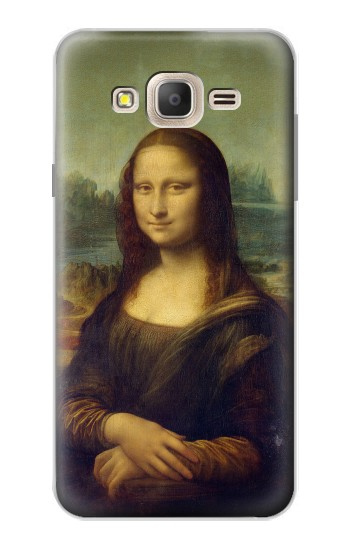 Printed Mona Lisa Da Vinci Painting Samsung Galaxy On7 Case
