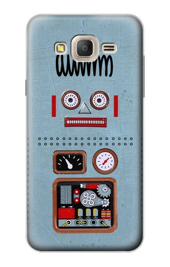 Printed Retro Robot Toy Samsung Galaxy On7 Case