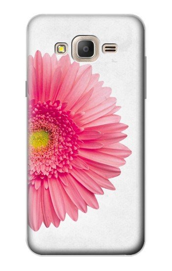Printed Vintage Pink Gerbera Daisy Samsung Galaxy On7 Case