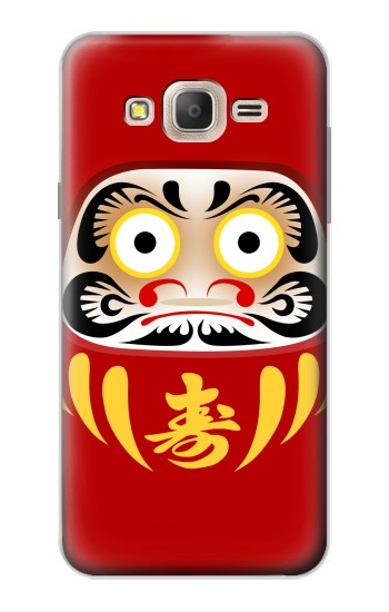 Printed Japan Bodhidharma Daruma Doll Samsung Galaxy On7 Case