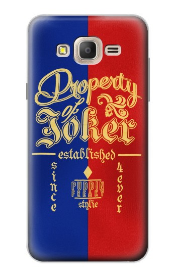 Printed Property of Joker Puddin Freaky Style Samsung Galaxy On7 Case