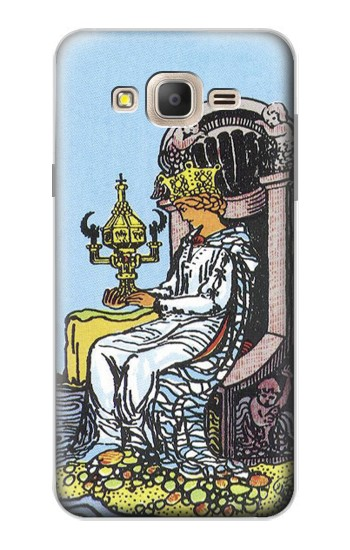 Printed Tarot Card Queen of Cups Samsung Galaxy On7 Case
