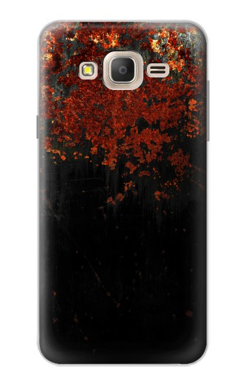 Printed Rusted Metal Texture Samsung Galaxy On7 Case