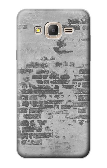 Printed Old Brick Wall Samsung Galaxy On7 Case