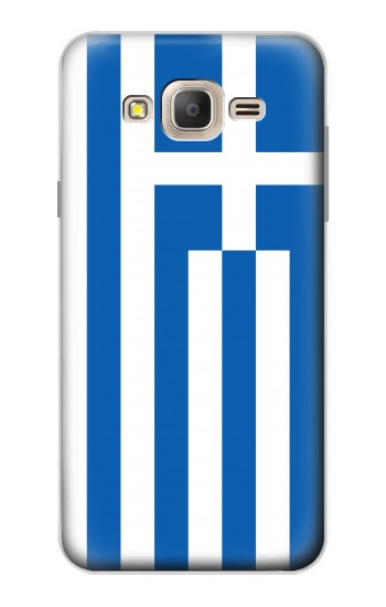 Printed Flag of Greece Samsung Galaxy On7 Case